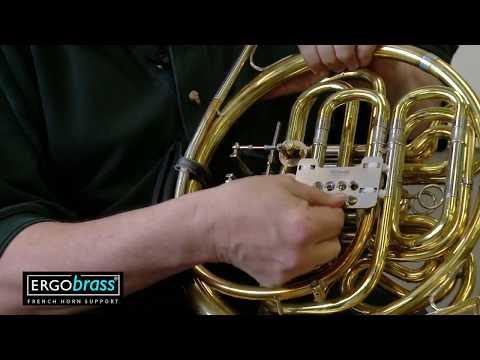 Installing The ERGObrass Horn Plate A
