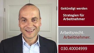 Arbeitgeber soll mir kündigen - Strategien für Arbeitnehmer | Fachanwalt Alexander Bredereck