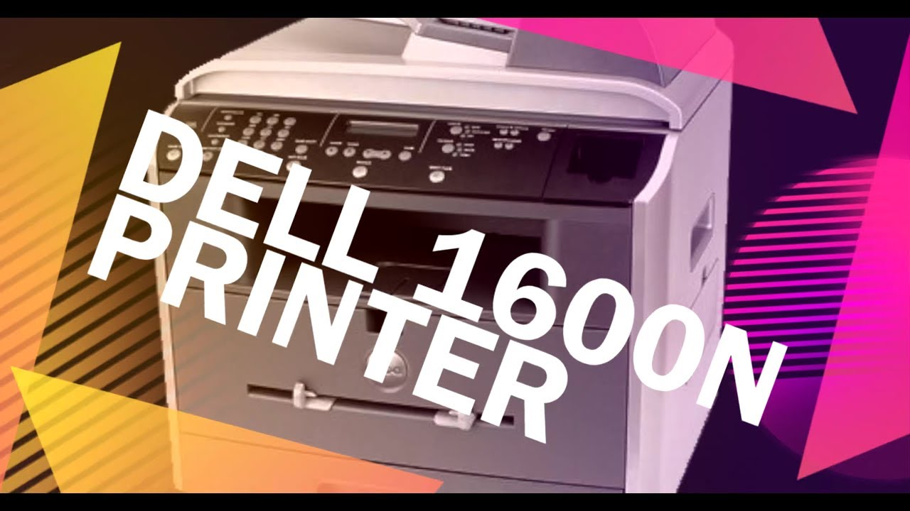 INSTALL DELL 1600N PRINTER DRIVERS DOWNLOAD (2019)