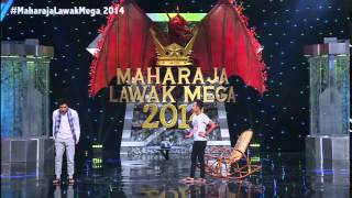 Maharaja Lawak Mega 2014 - Sepahtu - Cerek & Kain Pelikat