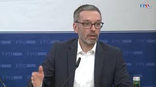 Herbert Kickl zu den linksextremen Protesten an der Uni-Wien