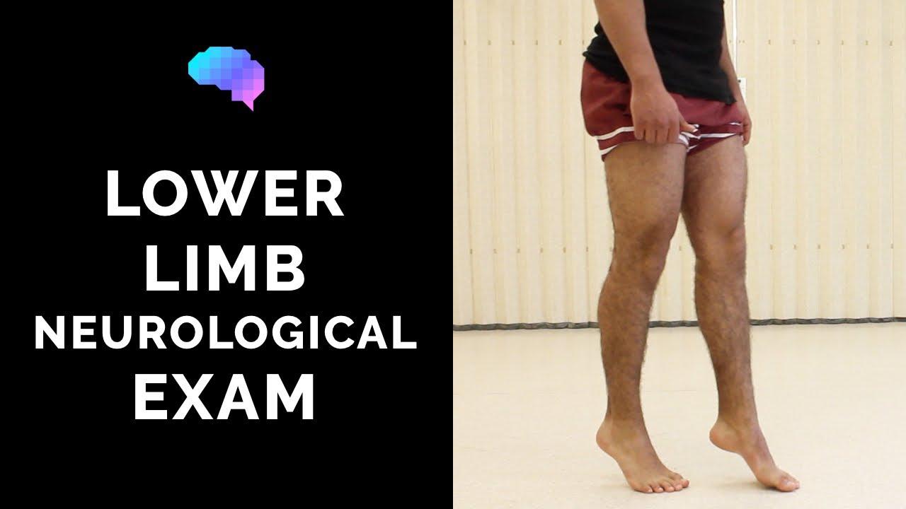 Download Lower Limb Neurological Examination - OSCE guide (New Version)