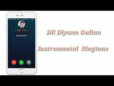 Dil Diyann Gallan /Instrumental Ringtone /By  MR.PM