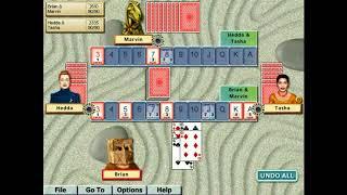 Canasta Hoyle Card Games 2003 edition