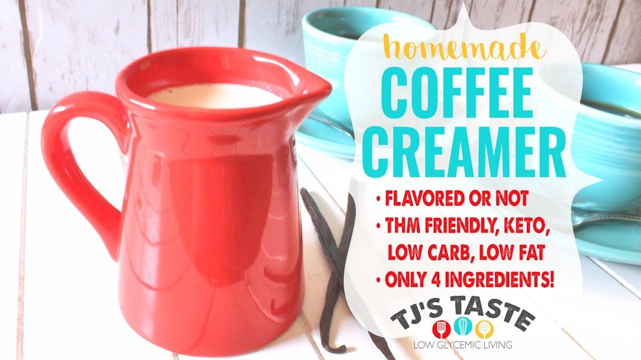 Homemade Flavored Coffee Creamer