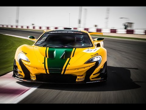 McLaren P1 GTR driven flat out on track: on-board video blog