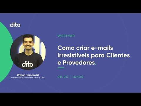 [Webinar] Como Criar E-mails Irresistíveis Para Clientes e Provedores