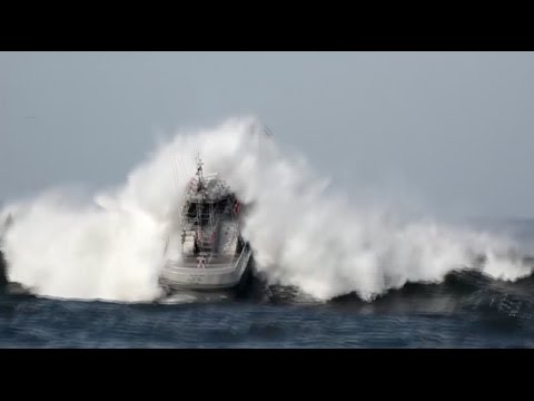 Coast Guard Conducts Surf Training