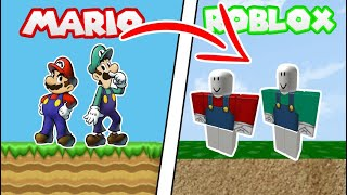 MARIO AND LUIGI WENT TO ROBLOX