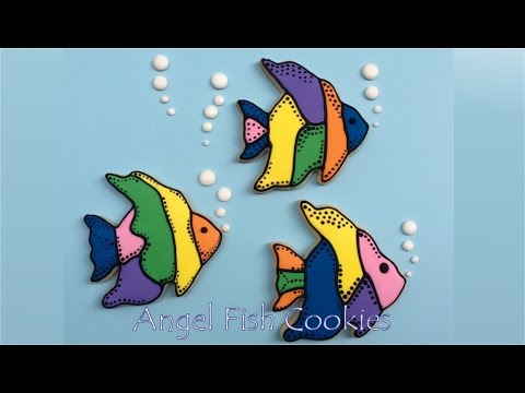 How To Decorate Fish Cookies