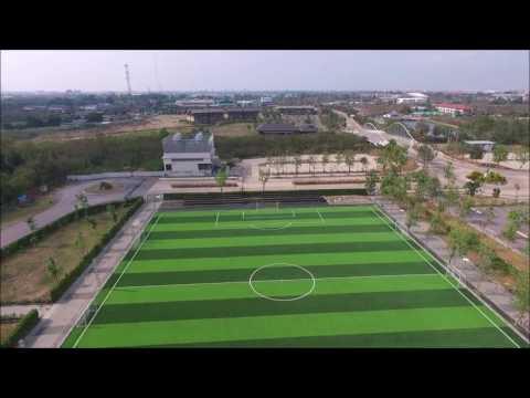 สนามฟุตบอลหญ้าเทียม โรงเรียนอัสสัมชัญ พระราม2