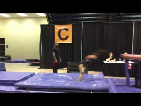Jasmine Williamson-Level 10-GMS Gymnastics**GRAD 2022** VAULT - COMP Yurchenko Layout