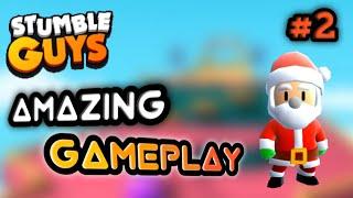 Stumble Guys Gameplay || Amazing online multiplayer game ||#2
