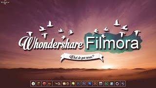 Wondershare FILMORA || Editor de Vídeos || Como Utilizarlo || 😘 👌 thumbnail