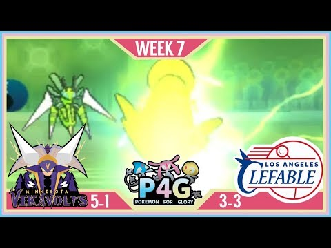 THE BASED TECH | Minnesota Vikavolts VS Los Angeles Clefable P4G S2 W7  | Pokemon Sun Moon