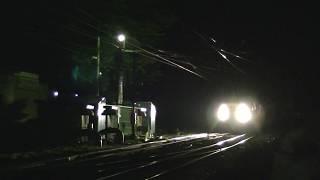 四季島 えちごトキめき鉄道 二本木駅通過