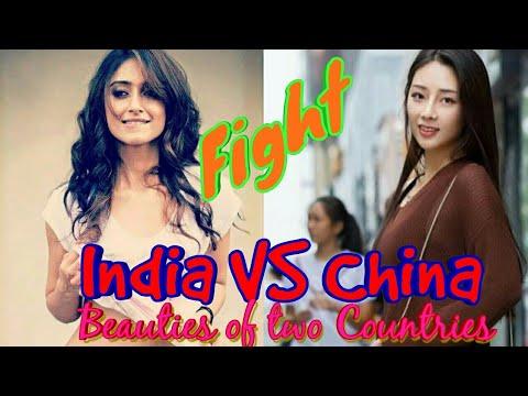 Indian Girls vs Chinese Girls   India vs China Beauty Contest