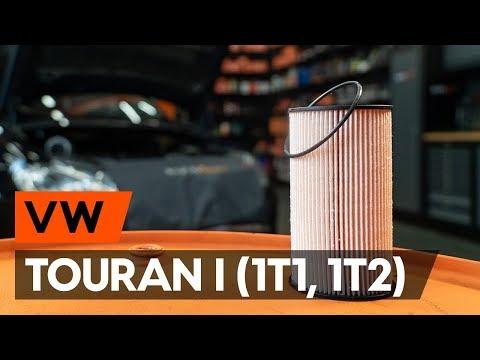 Ako Vymeniť Palivový Filter Na VW TOURAN 1 (1T1, 1T2) [NÁVOD AUTODOC]