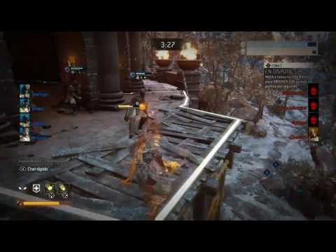 FOR HONOR - 1 VS 4 DOMINIO (FINAL) EPIQUISIMA REACCIÓN!