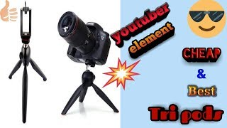 Cheap & best tripod!! For every youtuber!! Unboxing & review!!