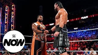 Big E and Drew McIntyre come face to face WWE Now Oct 11 2021