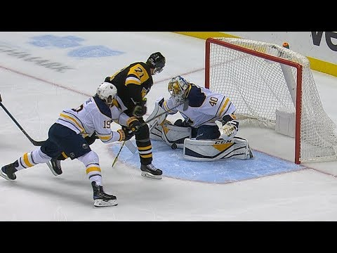 Carter Hutton's clutch pair of saves