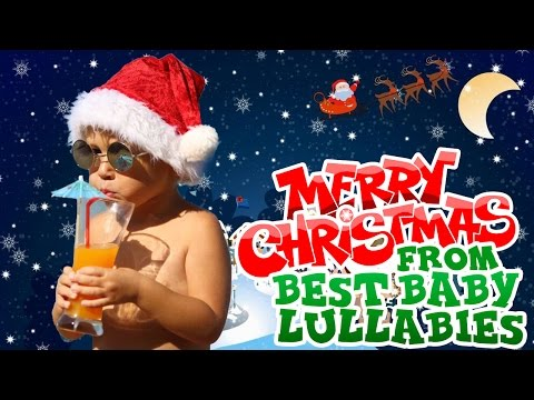 CHRISTMAS Songs To Put A Baby To Sleep Lyrics-Baby Lullaby Lullabies Silent Night♥