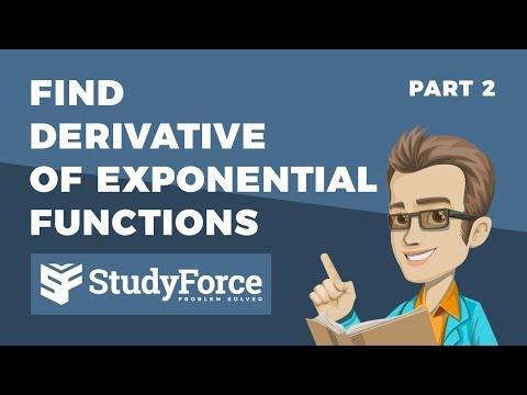 📚 How to find the derivative of exponential functions (Part 2)