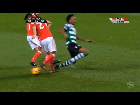 Pizzi amazing skills vs Sporting Lisbon (2016/2017) - 1080i
