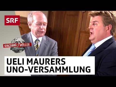 Ueli Maurer Viktor Giacobbo erzählt von der UnoVersammlung  Giacobbo  Müller