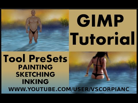 GIMP Tutorial - How to Set Up and Use Tool Presets by VscorpianC