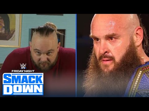 Bray Wyatt challenges Braun Strowman soon after defeating Shinsuke Nakamura | FRIDAY NIGHT SMACKDOWN