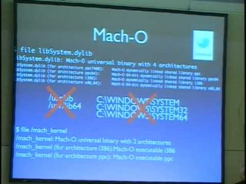 24C3: Inside the Mac OS X Kernel
