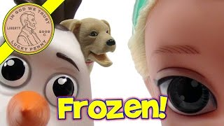 Disney Frozen Snow Glow Elsa Doll & Olaf Toy Set