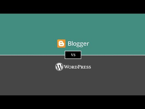 Blogger Vs WordPress | WordPress Vs Blogger Comparison [2018]