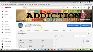 How I Created My Youtube Channel Living In Recovery From Addictions And You Can Too - Day  Five.