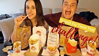 French Fry Taste Test Challenge!