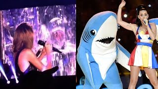Taylor Swift Disses Katy Perry with 'Bad Blood' Shark Cameo!?