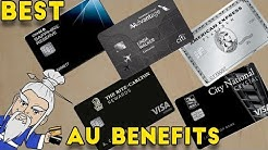 Which AUTHORIZED USER CREDIT CARD Gives the Best BENEFITS?