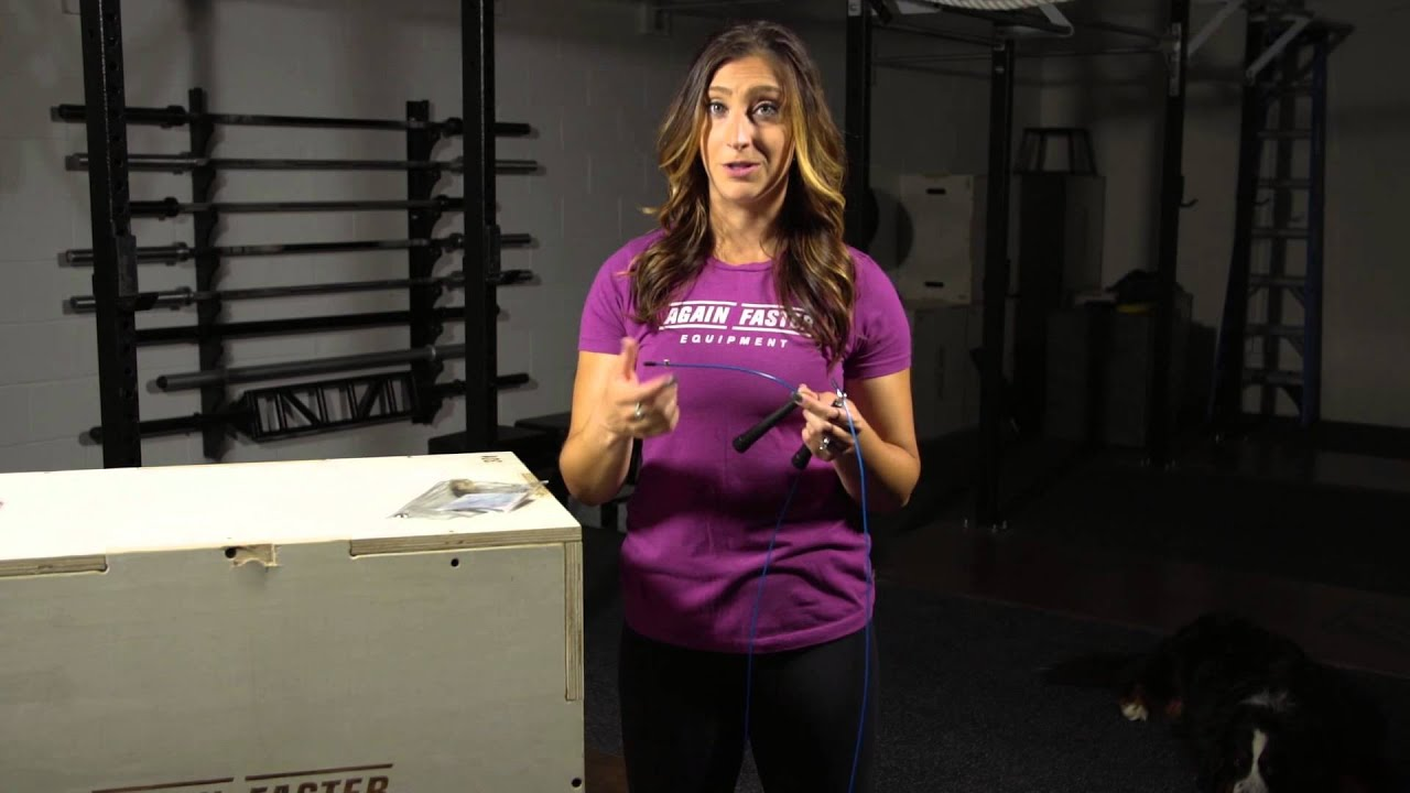 How To Size And Store Your Again Faster Jump Rope