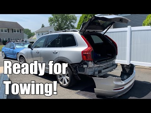 DIY Stealth Hitch install on a Volvo XC90 (SPA – similar to XC60, V90)