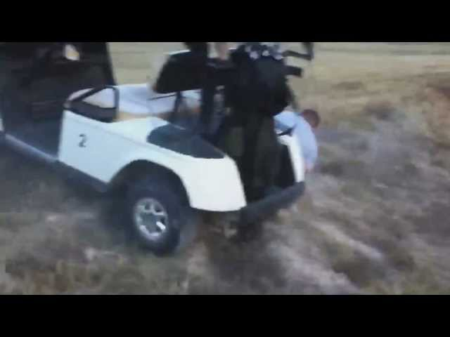 Accidentes en carros de golf (crazy golf cart) Videos De Viajes