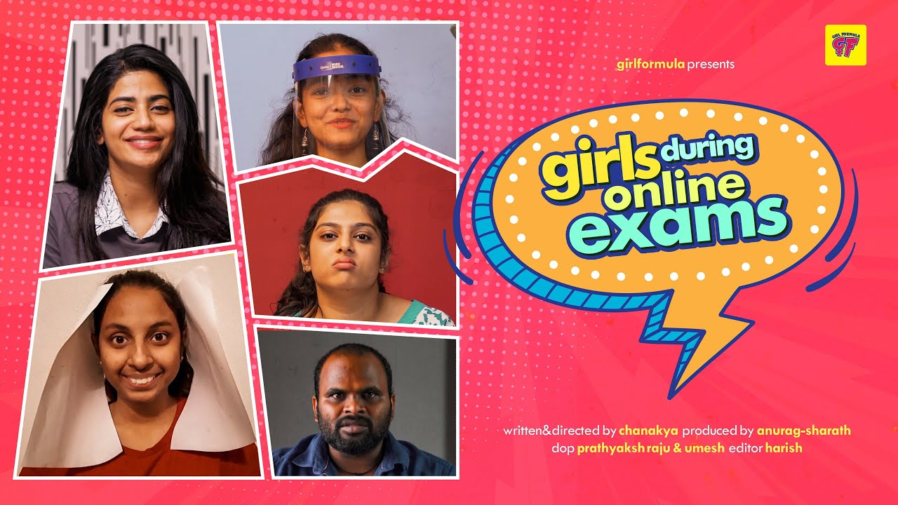 Girls in Online Exams | Girl Formula | Chai Bisket