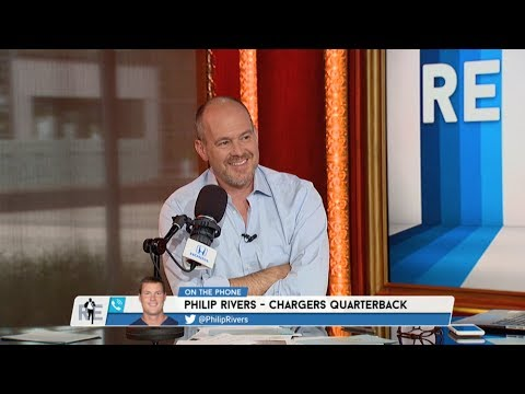L.A. Chargers QB Philip Rivers Dials in to The RE Show - 7/14/17