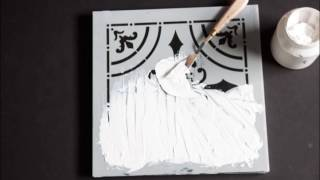 Do It Yourself! Faux Tin Tile