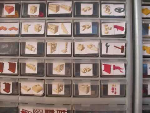 Labels for Lego storage $27 - YouTube
