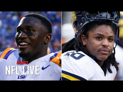 Where will Devin White and Devin Bush be taken in the 2019 NFL draft? | NFL Live