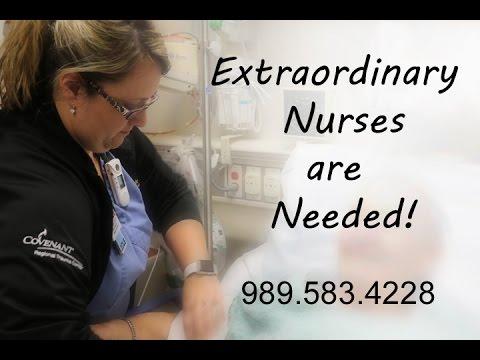 Covenant HealthCare is Hiring Extraordinary Nurses!