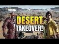 DESERT TAKEOVER! ft. Izzo | 30 KILLS Duo vs Squad Game! | PUBG Mobile