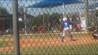 nico s mother s day homerun against the tbsa patriots